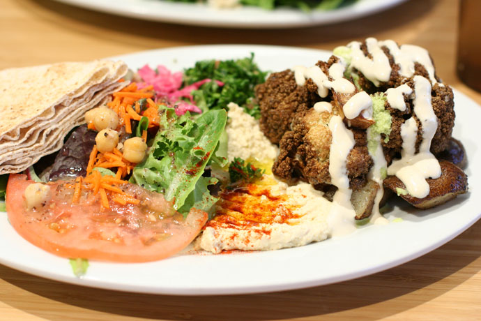 Nuba restaurant Lebanese food