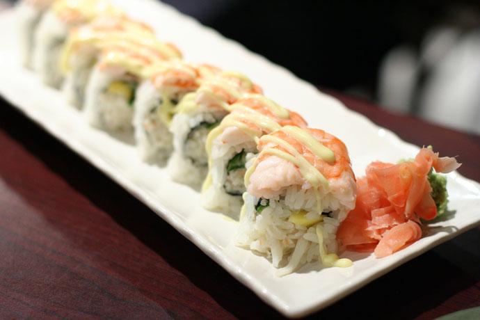 Mangodise Sushi Roll (Japanese)