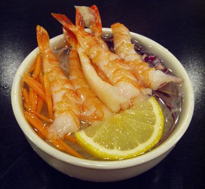 Ebi Sunomono Salad