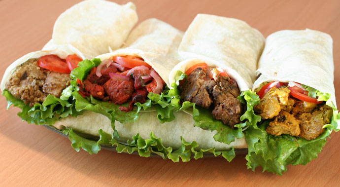 More wraps from Tandoori Delight foods
