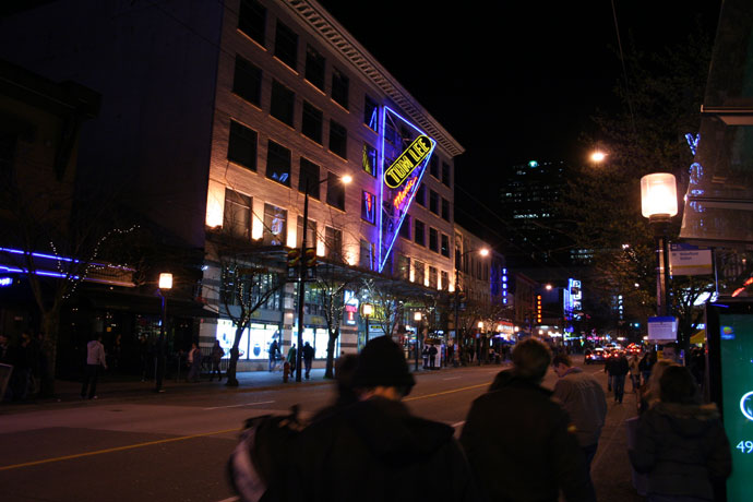 Tom Lee Music in Vancouver downtown