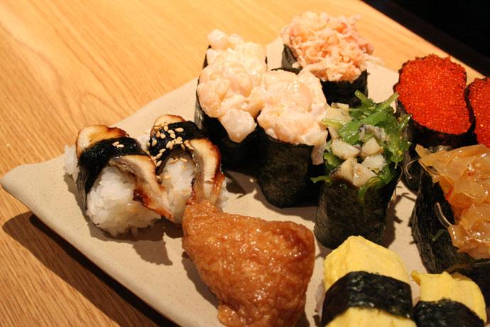 Nigiri sushi: delicious!