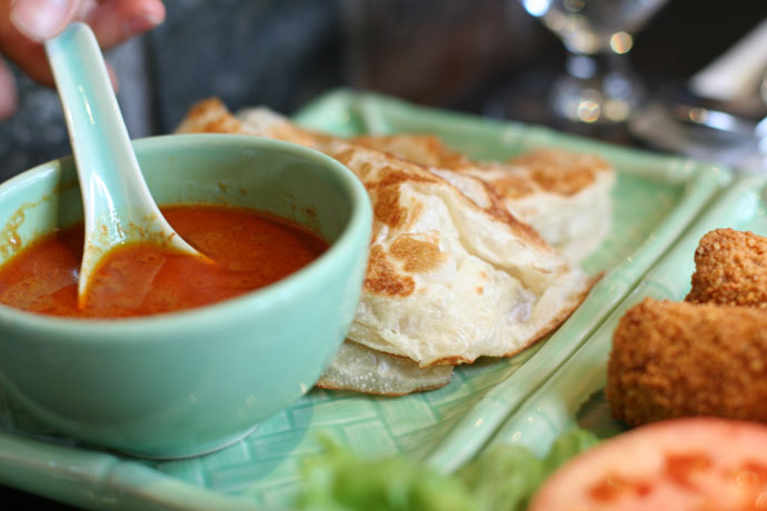 Roti Canai bread from Tropika on Robson ($2.95)