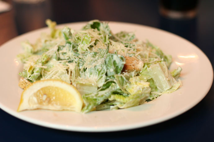 Side Caesar salad from Zacharys on Robson